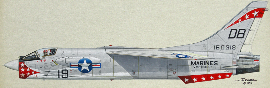 F 8 Crusader Clip Art http://www.aviation-art.net/Gallery%20Six.html
