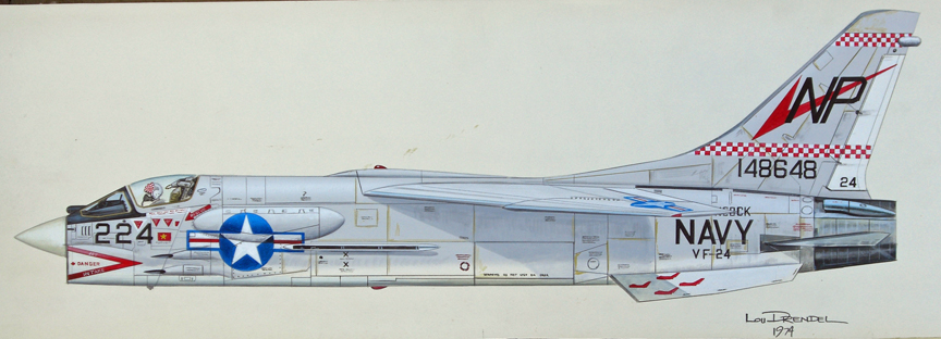 VF 24 F 8 Crusader http://www.aviation-art.net/Gallery%20Six.html