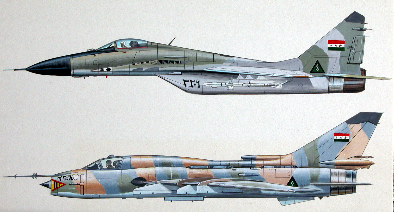 Lockheed Martin F-22 Raptor and McDonnell Douglas F-15 Eagle